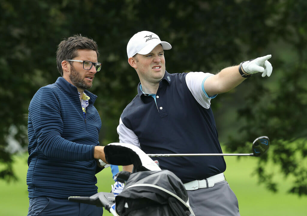 Doheny & Quinlan in front ahead of Golfbreaks Fourball finale
