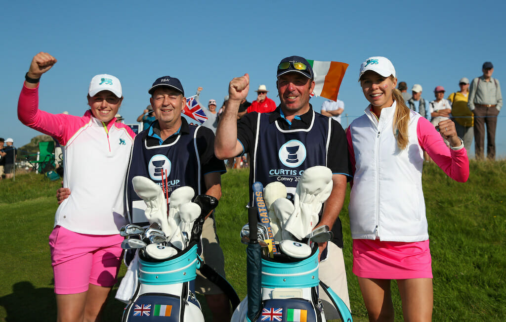 Honours even ahead of Curtis Cup singles showdown