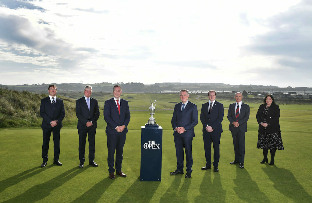 The Open to return to Royal Portrush in 2025