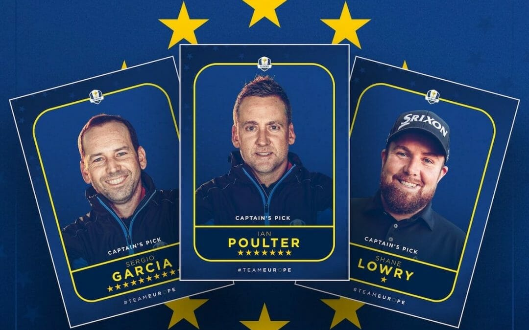Podcast: Ryder Cup picks reaction: Paddy picks Lowry + Rose overlooked