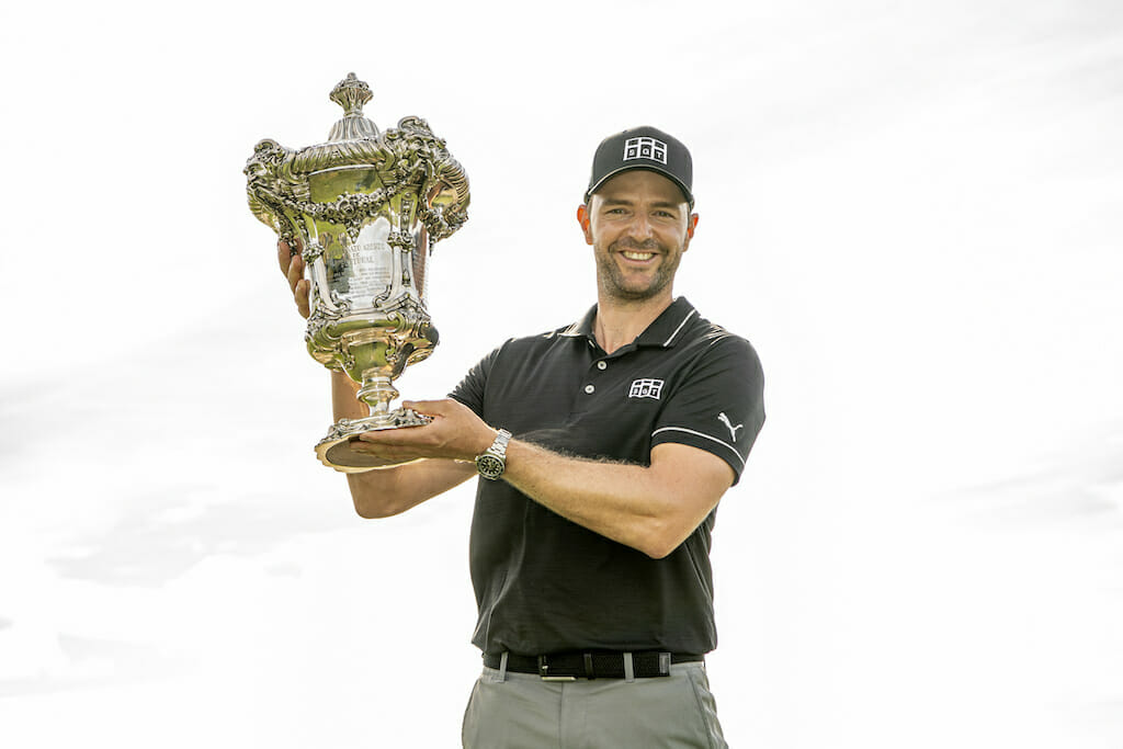 Hoey ties 23rd as eagle lands Schneider title in Portugal