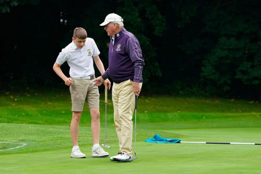 Granddad-Grandson O'Brien duo star at AIG Cups & Shields Finals