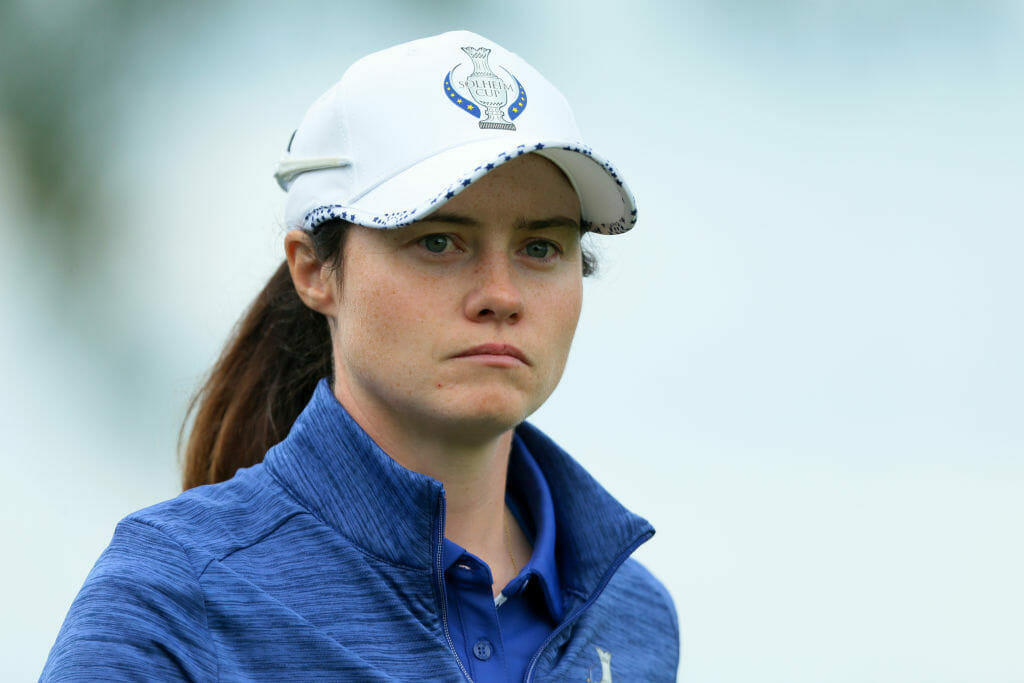 Maguire and Reid paired together again for Solheim Sunday foursomes