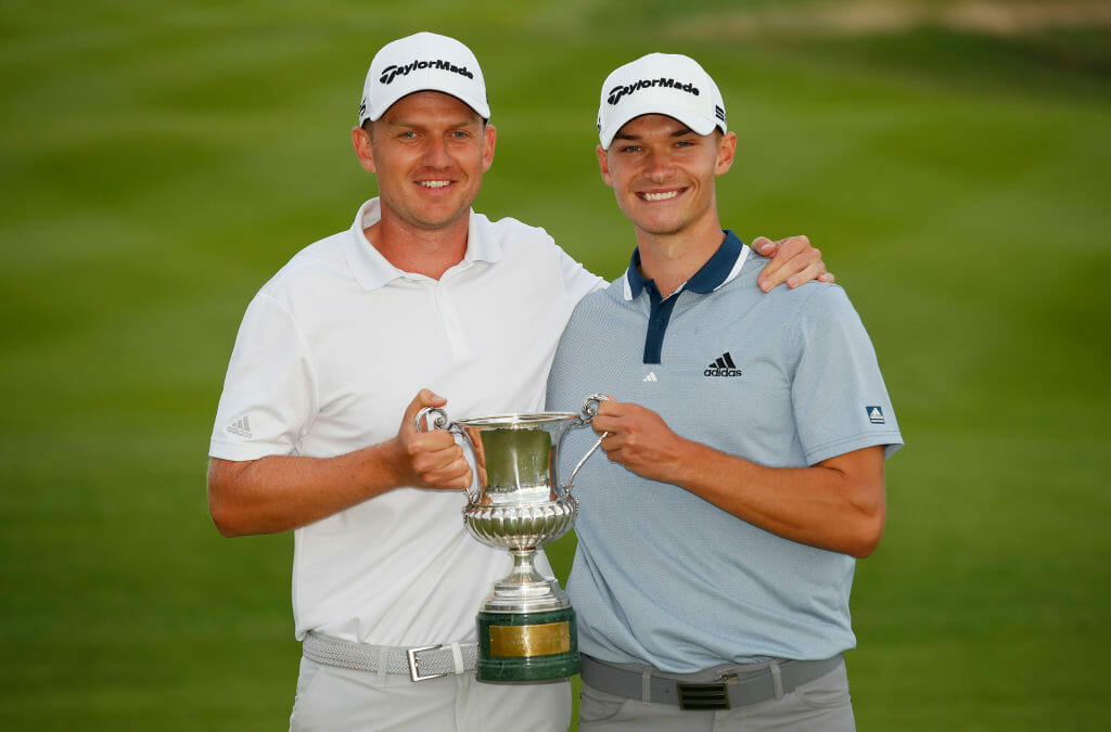 Bjorn leads tributes as Hojgaard twins create pro golfing history