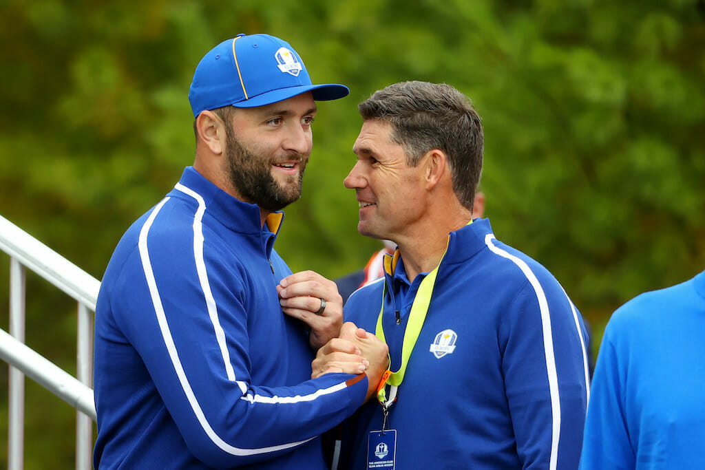 Harrington says 'Covid envelope' rule in place at Ryder Cup
