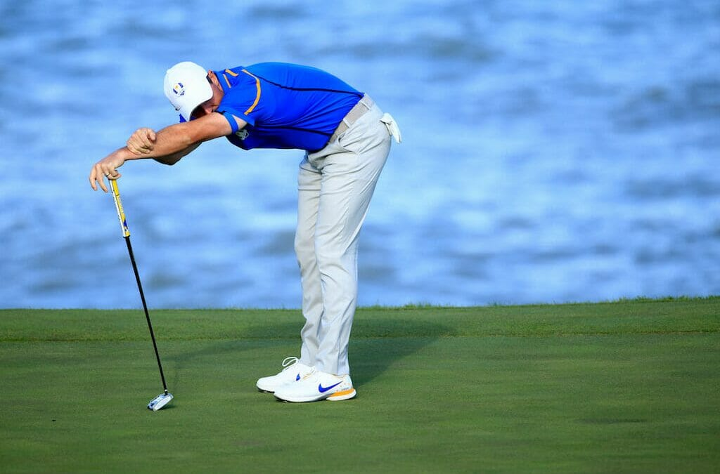 Harrington defends decision to leave McIlroy out of foursomes