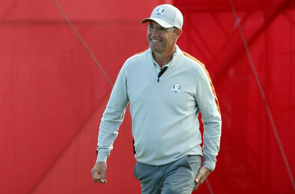 Harrington hoping for a Wisconsin miracle in Sunday's singles