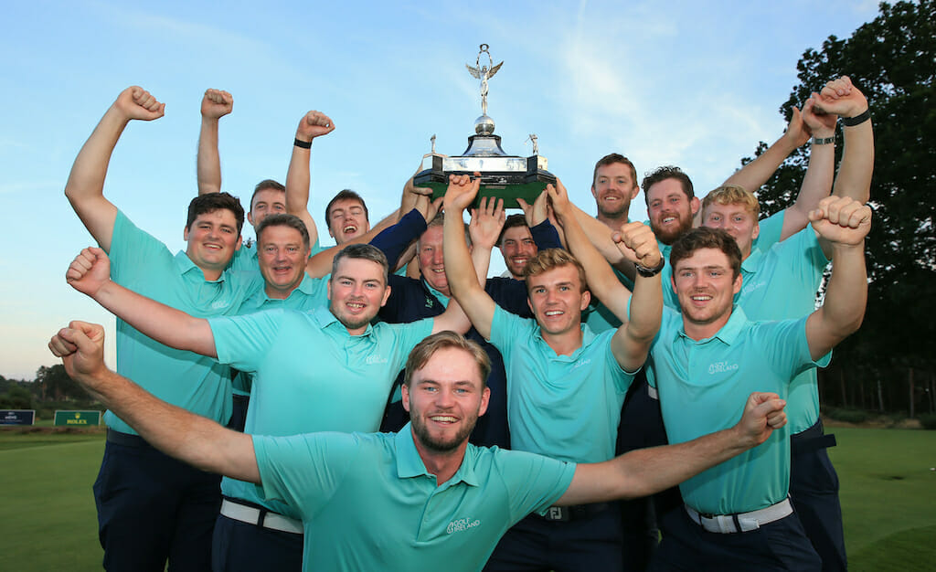 Men in Green claim brilliant victory at Home Internationals