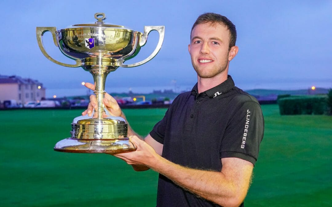 Hugh Foley claims West of Ireland Men's Open Championship