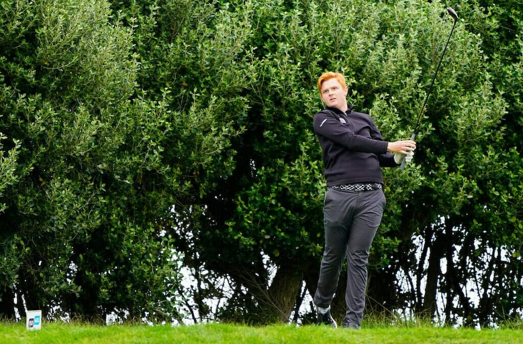 Hill sets the standard after day one of the Flogas Irish Men's Amateur Open