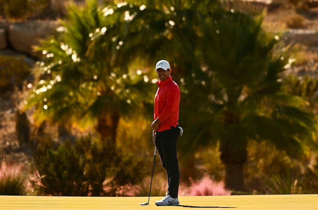 Lowry & McIlroy set to spin the wheel at CJ CUP in Las Vegas