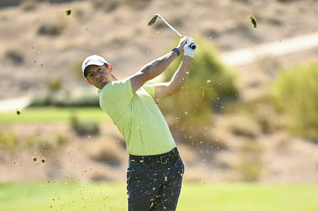 McIlroy finds some magic to trail resurgent Fowler by two in Vegas