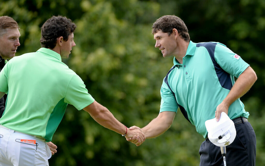 Harrington on how McIlroy impacted his game, more so than Tiger