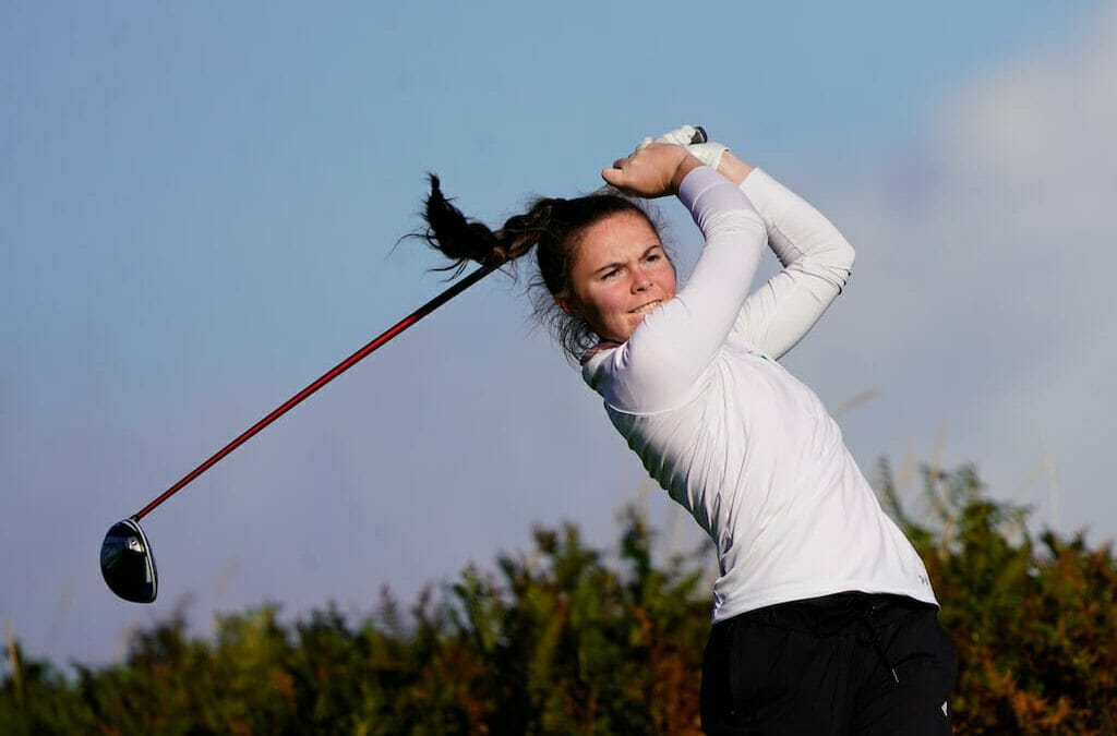 Coulter two back of leader Rissanen at Women's and Girls' Amateur