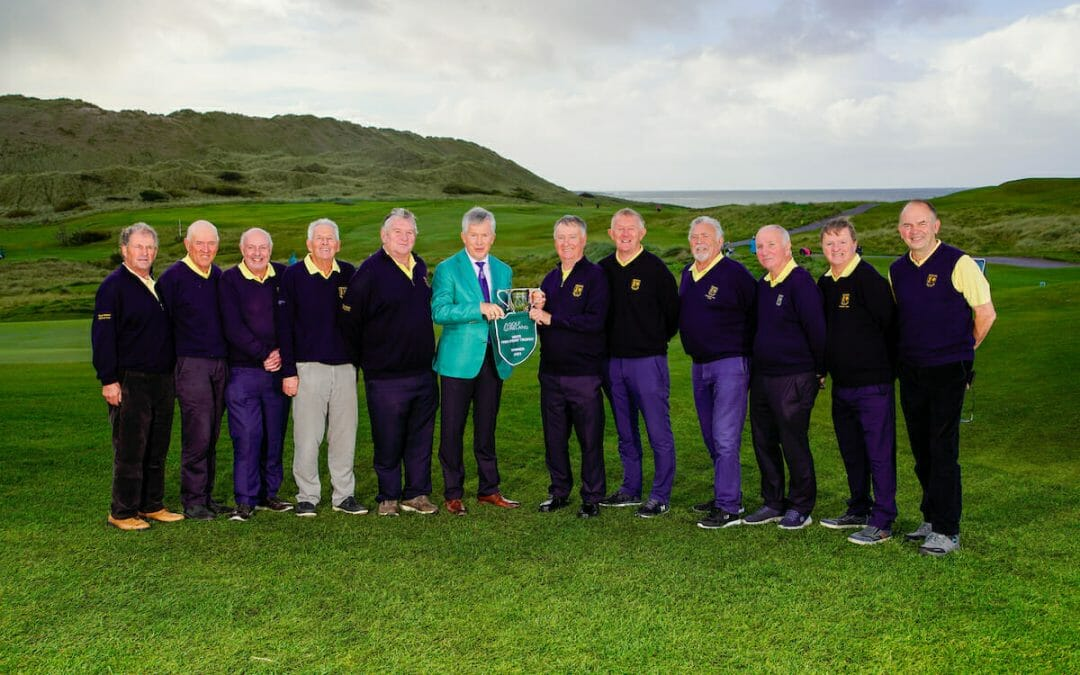 Nenagh claim yet another national pennant with a win in the Men's Fred Perry Four Balls