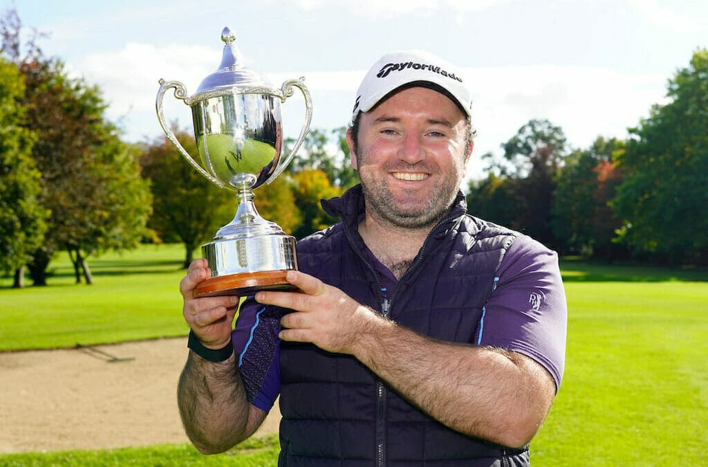 O'Hanlon puts the field to the sword with four-shot Irish Mid-Am win